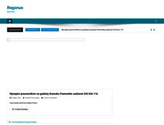 regonus.pl screenshot