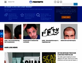 regrowth.com screenshot