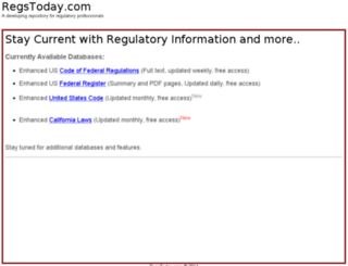 regstoday.com screenshot