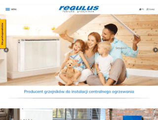 regulus.com.pl screenshot