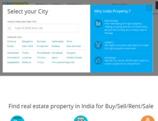 regus.indiaproperty.com screenshot