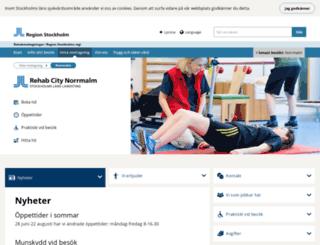 rehabcitykungsholmen.se screenshot
