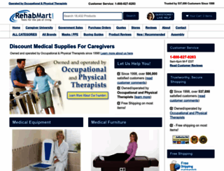 rehabmart.com screenshot