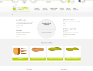 rehacare.sk screenshot