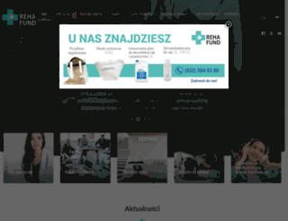 rehafund.pl screenshot
