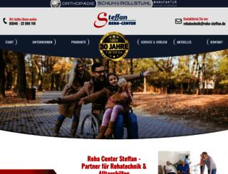 rehatechnik-steffan.de screenshot