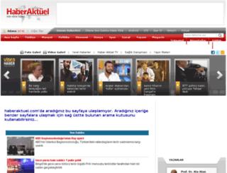 rehberlik.haberaktuel.com screenshot