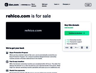 rehico.com screenshot
