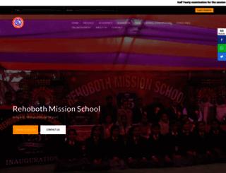 rehobothmissionschool.com screenshot
