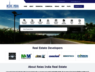 reiasindia.com screenshot