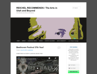 reichelrecommends.com screenshot