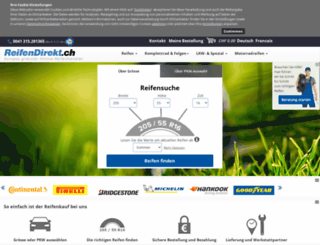 reifen-direct.ch screenshot