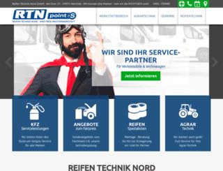 reifen-technik-nord.de screenshot