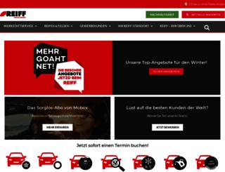 reiff-reifen.de screenshot