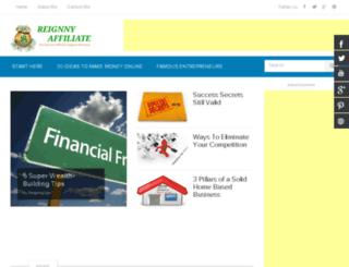 reignnyaffiliate.com screenshot