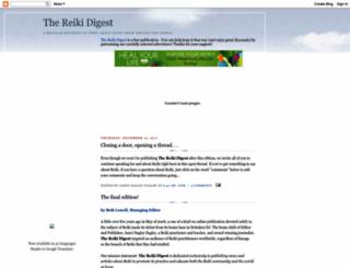 reikidigest.blogspot.com screenshot