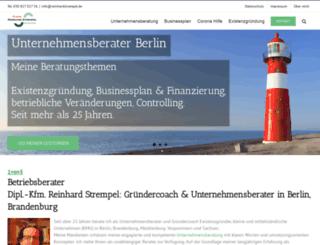 reinhardstrempel.de screenshot