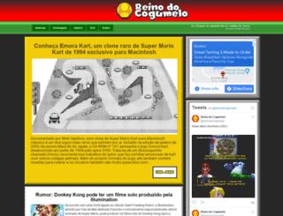 reinodocogumelo.blogspot.com screenshot