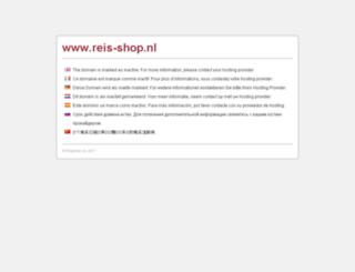 reis-shop.nl screenshot