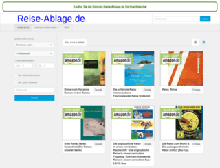 reise-ablage.de screenshot