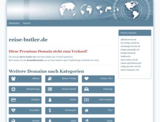 reise-butler.de screenshot