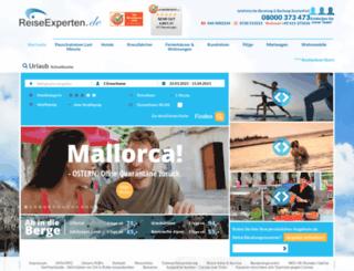 reise-experten.de screenshot