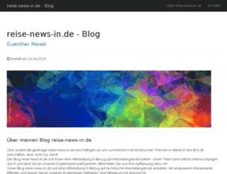 reise-news-in.de screenshot
