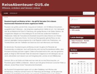 reiseabenteuer-gus.de screenshot