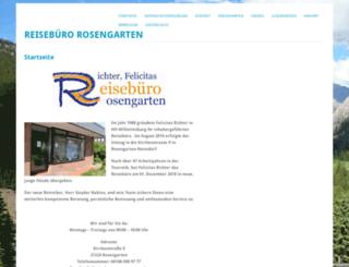 reisebuero-rosengarten.de screenshot