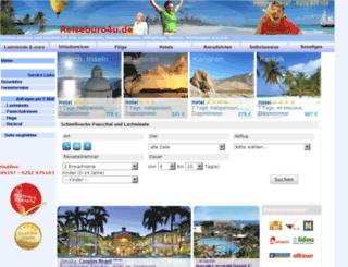 reisebuero4u.de screenshot