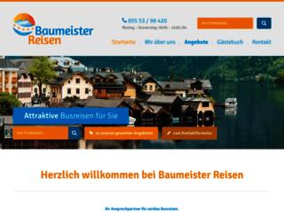 reisedienst-baumeister.de screenshot
