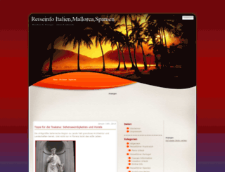 reiseinfoweb.com screenshot