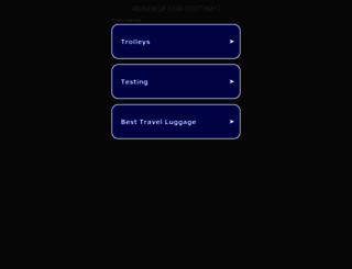 reisekoffer-test.info screenshot