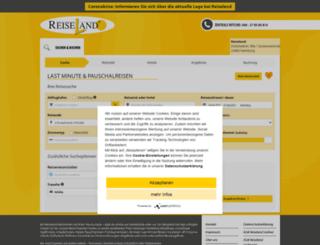reiseland-ibe.traveltainment.de screenshot