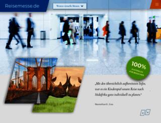 reisemesse.de screenshot