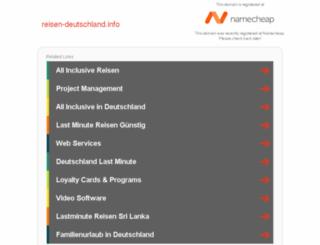 reisen-deutschland.info screenshot