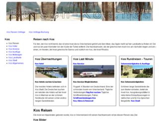 reisen-kos.net screenshot