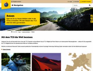 reisen-tcs.ch screenshot