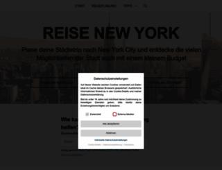 reisenewyork.com screenshot