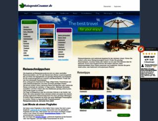 reisepreiscounter.de screenshot