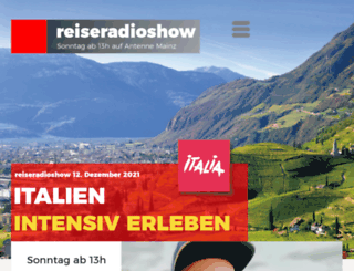 reiseradioshow.de screenshot
