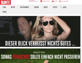 reisewelt.bunte.de screenshot