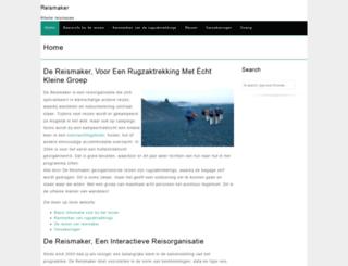 reismaker.nl screenshot