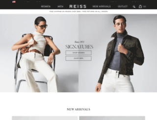reiss.co.uk screenshot