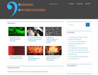 reisser-musikvertrieb.de screenshot