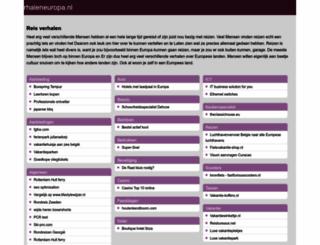 reisverhaleneuropa.nl screenshot