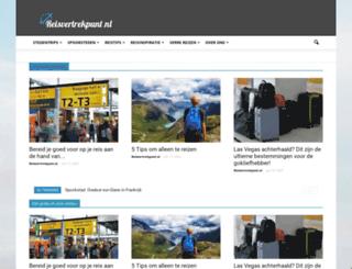 reisvertrekpunt.nl screenshot