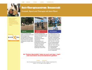 reit-therapiezentrum.at screenshot