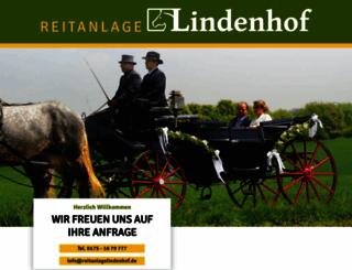 reitanlagelindenhof.de screenshot