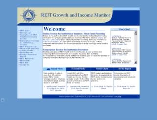 reitgrowthandincomemonitor.com screenshot